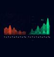 complex futuristic infographics data thread vector image vector image