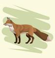 fox art drawing