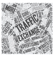 How do Traffic Exchanges Work and How do I get vector image vector image