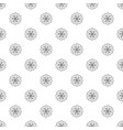 medicine flower pattern seamless vector image vector image
