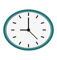 clock flat vector image