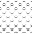 bakery pattern seamless vector image vector image