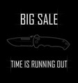 big sale of knives vector image