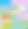 blurred background of different colors vector image vector image