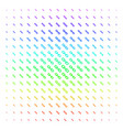 chain icon halftone spectral grid vector image vector image