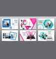 design template abstract background vector image vector image