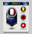 group a of european vector image vector image