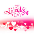 happy vanentine s day feelings and love design vector image vector image