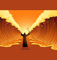 moses and the red sea vector image vector image