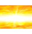 Orange sky summer view background vector image