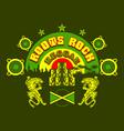 reggae vector image vector image