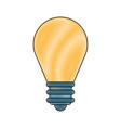 regular lightbulb icon image vector image vector image