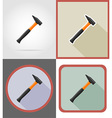 repair tools flat icons 10 vector image vector image
