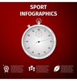 SPORT infographics vector image vector image