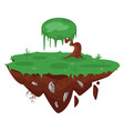 game green island vector image