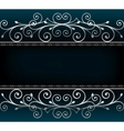 luxurious invitation card vector image