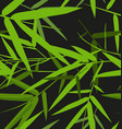 bamboo leaf pattern2 vector image vector image