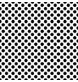 black circles on a white background seamless vector image vector image