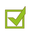 check mark accept icon image vector image vector image