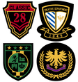 Emblem royal badge shield vector | Price: 1 Credit (USD $1)