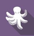 icon octopus vector image vector image