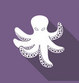 icon of octopus vector image vector image