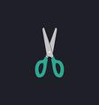 Scissors computer symbol vector image vector image