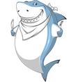 White shark vector image vector image