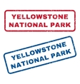 Yellowstone National Park Rubber Stamps