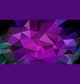 abstract polygonal background fuchsia pink vector image vector image