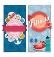 Active lifestyle banners vector image vector image