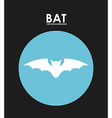 bat design vector image