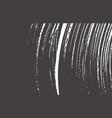 grunge texture distress black grey rough trace vector image vector image