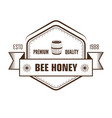 honey isolated sketch icon farm product and vector image vector image
