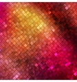 Pink glitters on a soft blurred background EPS 10 vector image vector image