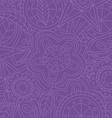 Purple floral flower pattern doodle