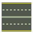 road icon cartoon style vector image vector image