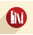 spines of books vector image vector image