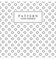 minimalist geometric seamless pattern with circles vector image