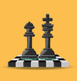 chess game design vector image vector image