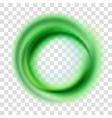 Green circle vector image vector image