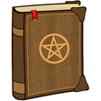 Magic spell book vector image vector image