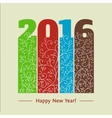 New year text design vintage vector image vector image