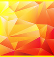 orange colorful origami background vector image vector image