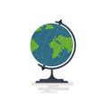 school globus icon vector image vector image