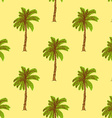Sketch palm in vintage style vector image vector image