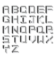 impossible Alphabet Type vector image