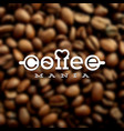 coffeemania label vector image
