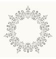 Elegant luxury retro floral frame vector image vector image