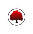 tree logo design template vector image